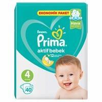 Bebek Bezi Aktif Bebek 4 Beden Maxi Ekonomik Paket 9-14 kg 40 Adet