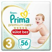 Premium Care Baby Diapers Size 3 Midi Twin Pack 6-11 kg 56 pcs