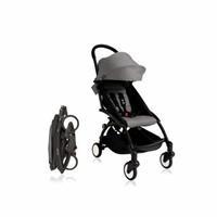 Baby Stroller Black - Grey