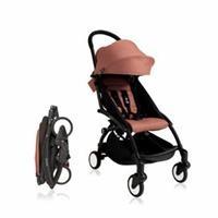 Baby Stroller Black - Rose Pink