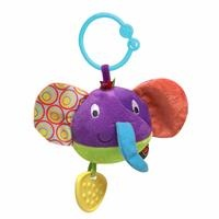 Plush Rattle Elephant Teether