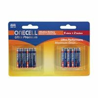Ultra Premium Alkaline AAA Battery 8 Pieces