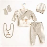 Baby Lamb 5-piece Bodysuit Set