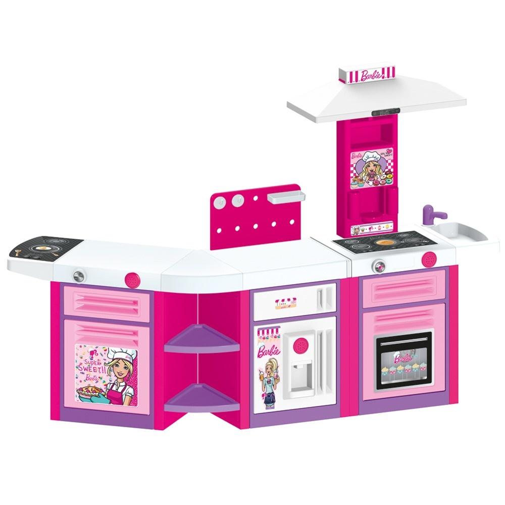Barbie Bebek Mutfak Seti 3 Lu