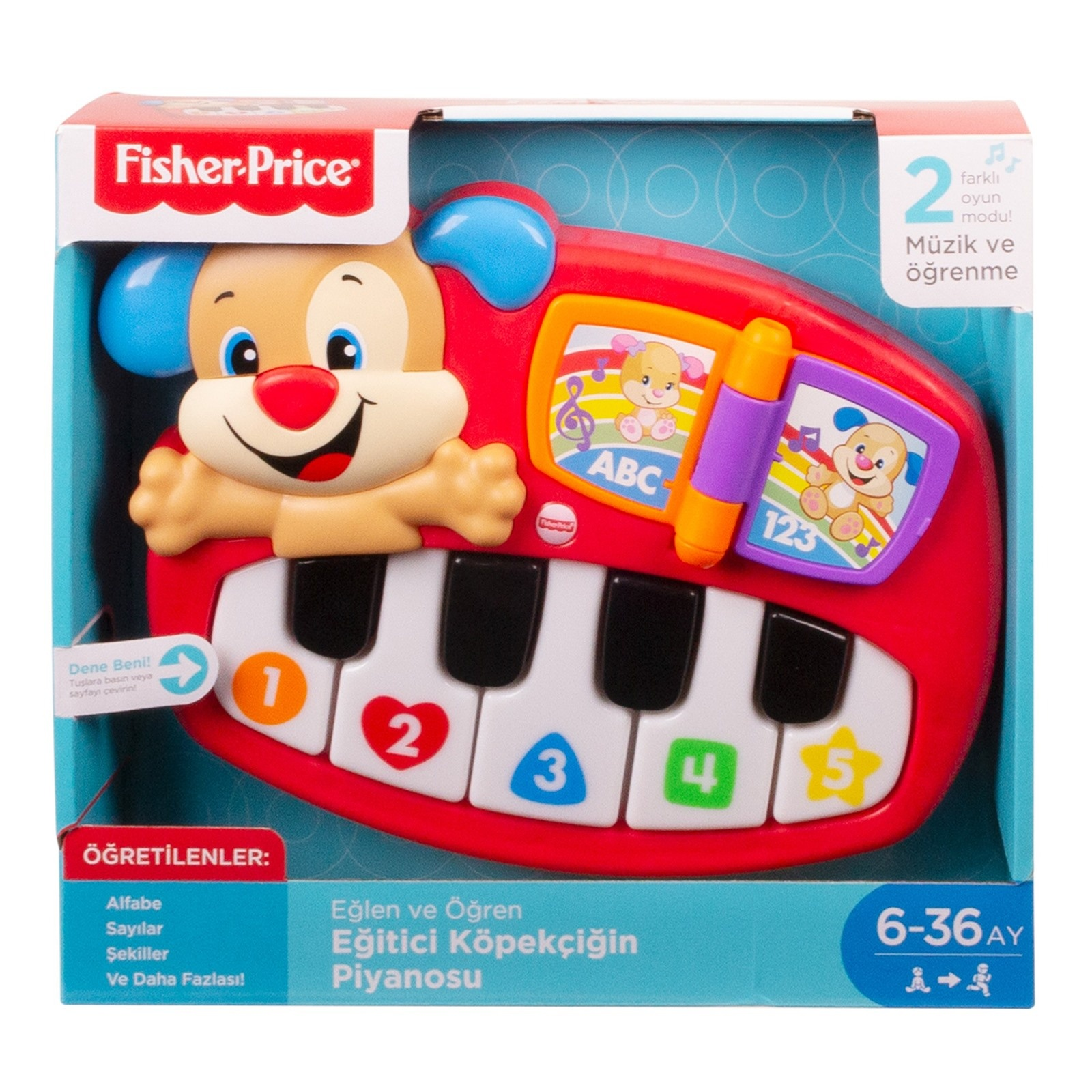 Fisher Price Egitici Kopekcigin Piyanosu Turkce