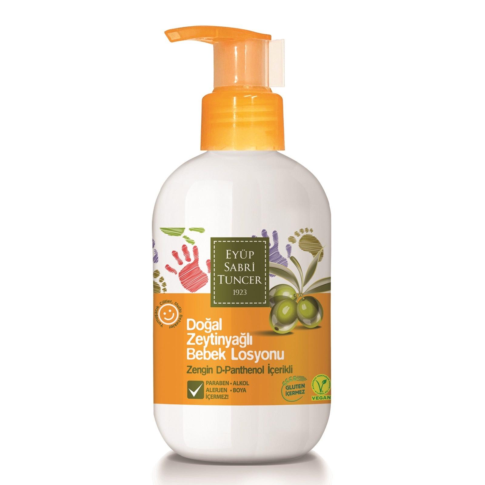 Eyup Sabri Tuncer Natural Olive Oil Baby Lotion 280 Ml