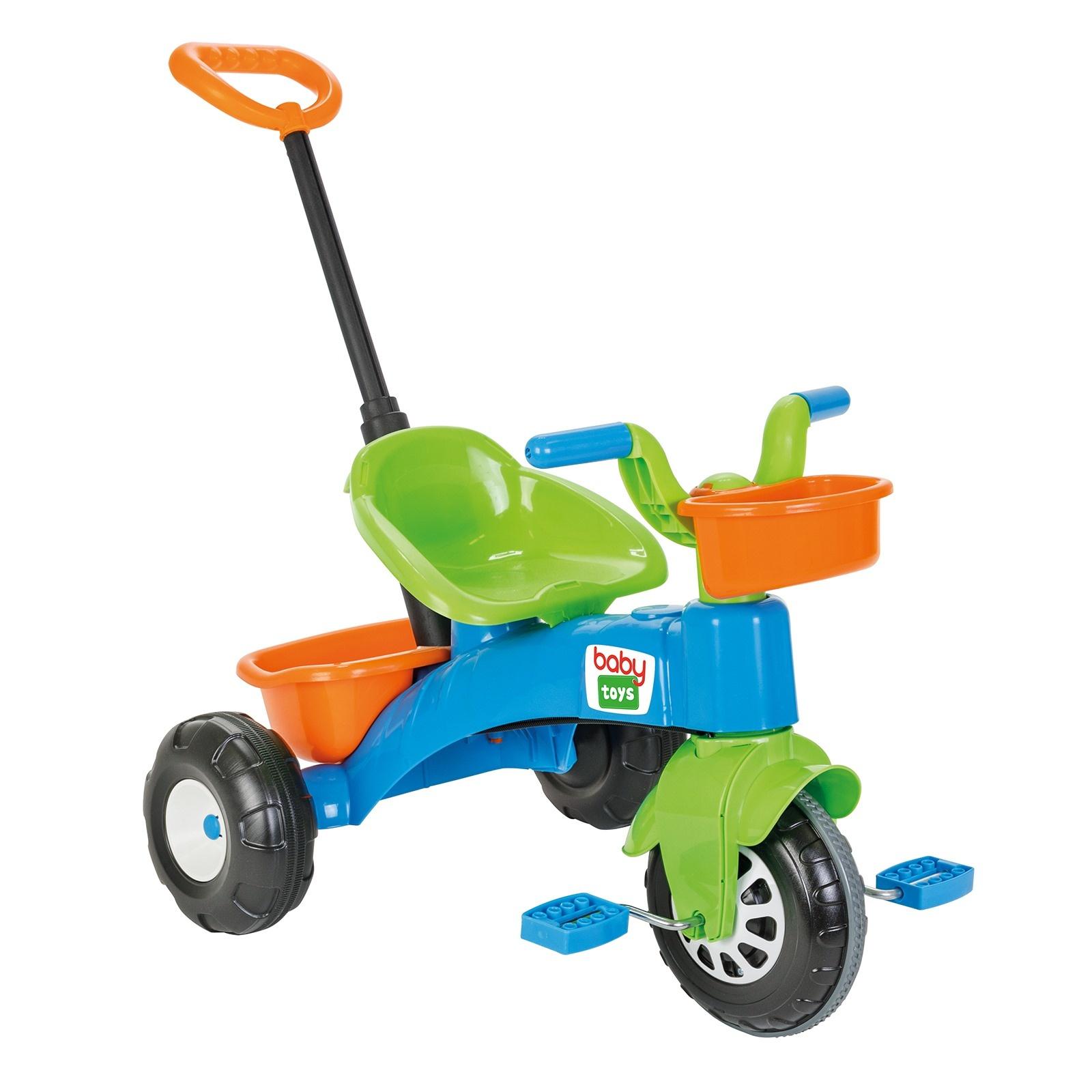 Üç tekerlekli çocuk arabası