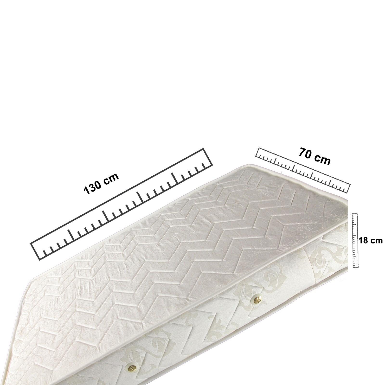 İzabella Vardı Ortopedik Yaylı Yatak 70x130 cm Ürün Resmi