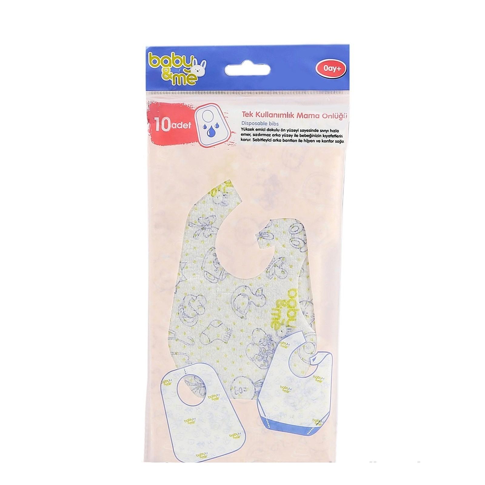 Bebek önlüğü Kollu Ve Silikon Mama önlükleri Ebebek