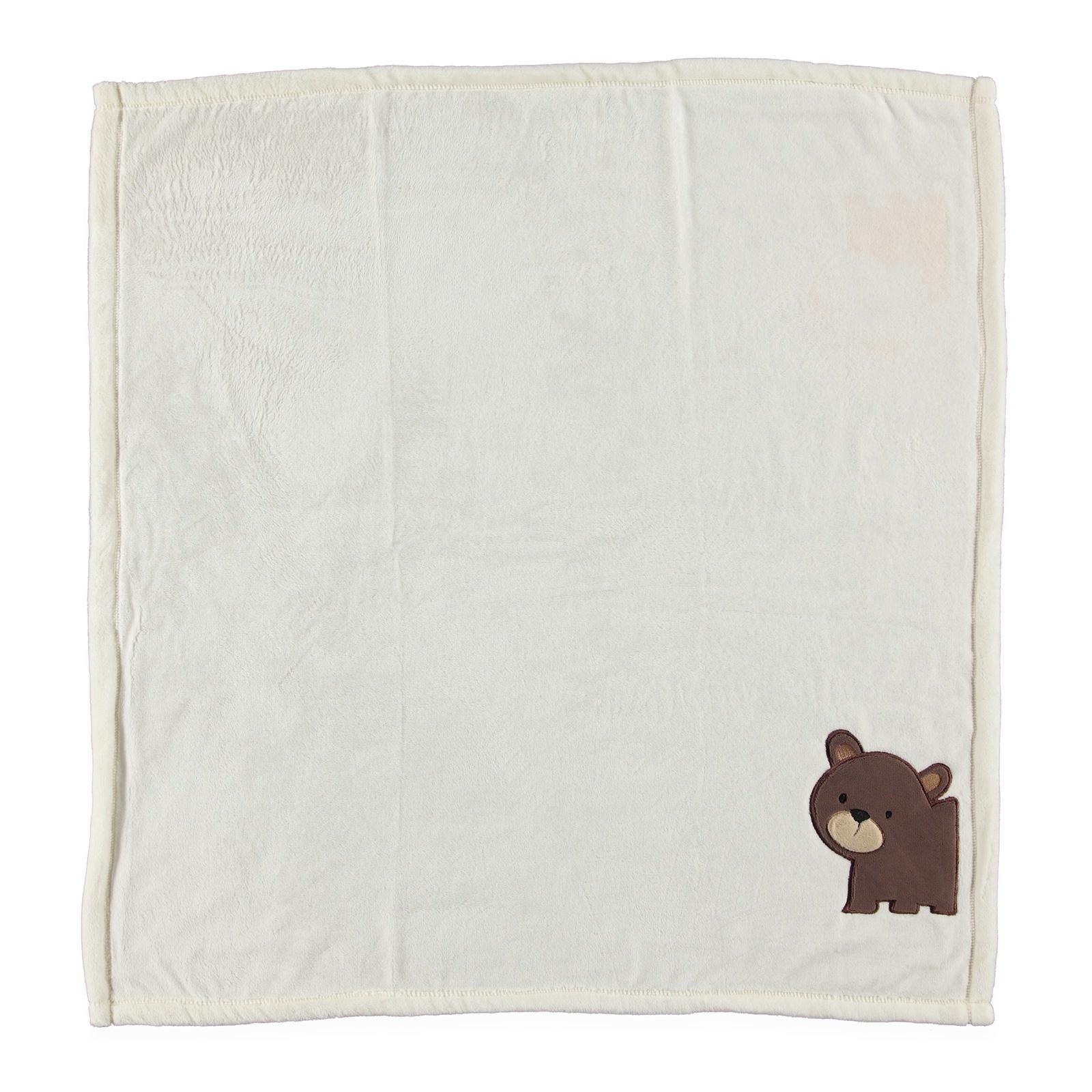 Bebek Ayı Desenli Battaniye